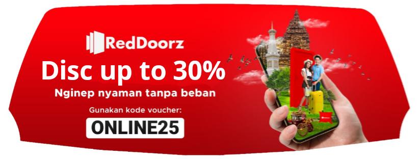 Kode Promo Online25 Diskon Up To 30 Reddoorz Diskon Up To 30 Kode Promo Online25